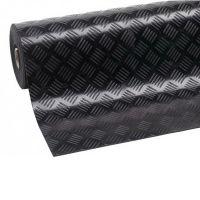 Průmyslová protiskluzová podlahová guma Checker - délka 10 m, šířka 125 cm a výška 0,4 cm