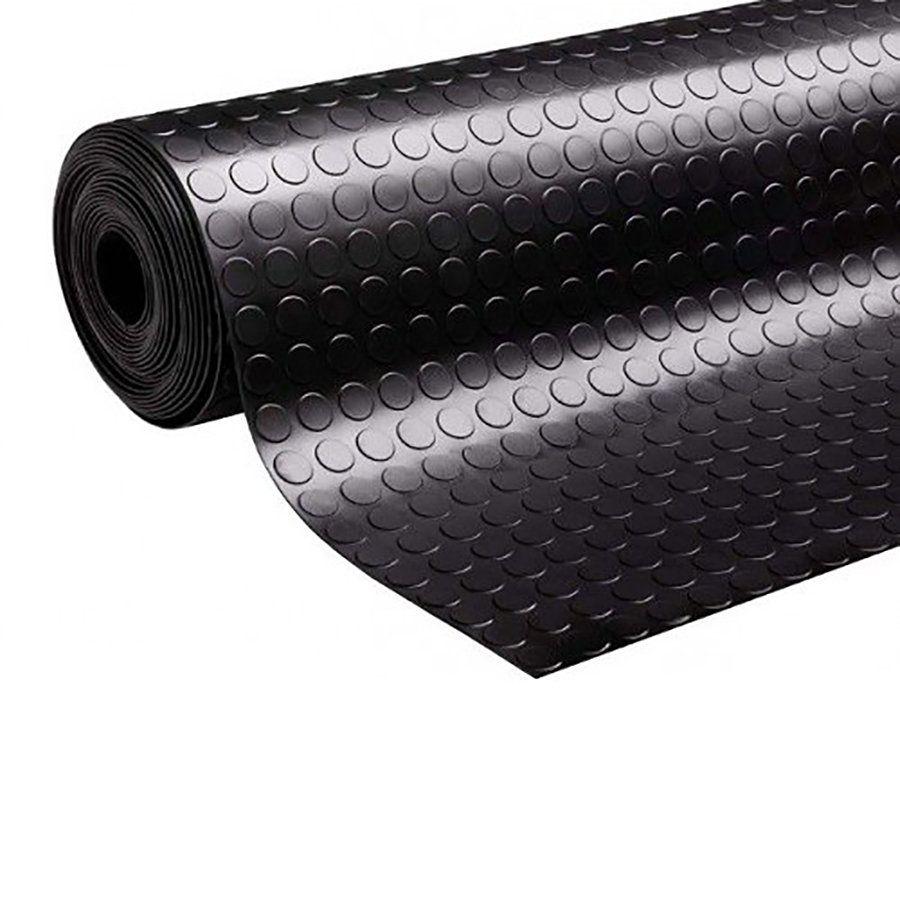 Průmyslová protiskluzová podlahová guma Coins - délka 10 m, šířka 160 cm a výška 0,3 cm FLOMAT