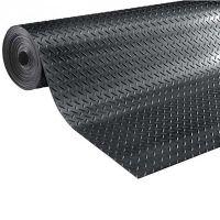 Průmyslová protiskluzová podlahová guma Diamonds - délka 10 m, šířka 125 cm a výška 0,4 cm