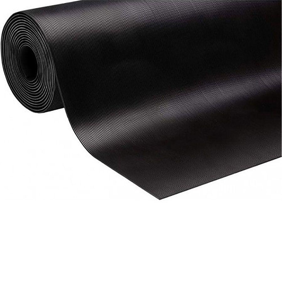 Průmyslová protiskluzová podlahová guma Thin Grooves - délka 10 m, šířka 125 cm a výška 0,3 cm FLOMAT