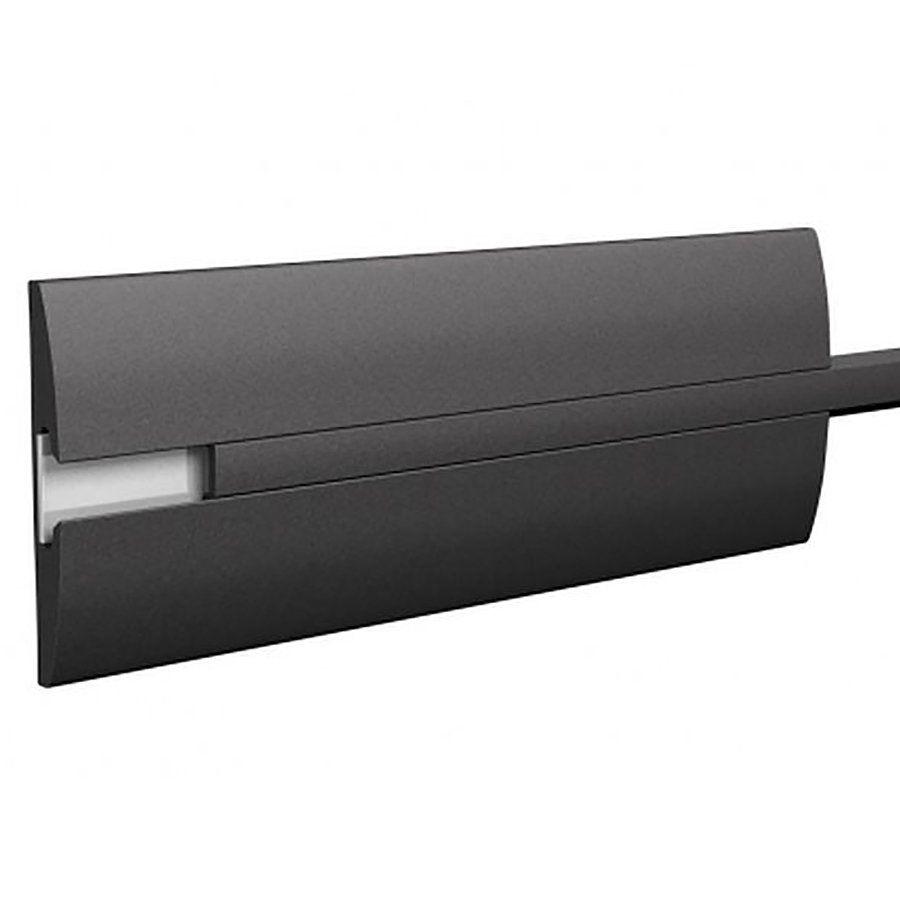 Pryžové nárazové svodidlo na ochranu stěn - délka 300 cm, výška 15 cm a tloušťka 2 cm FLOMAT