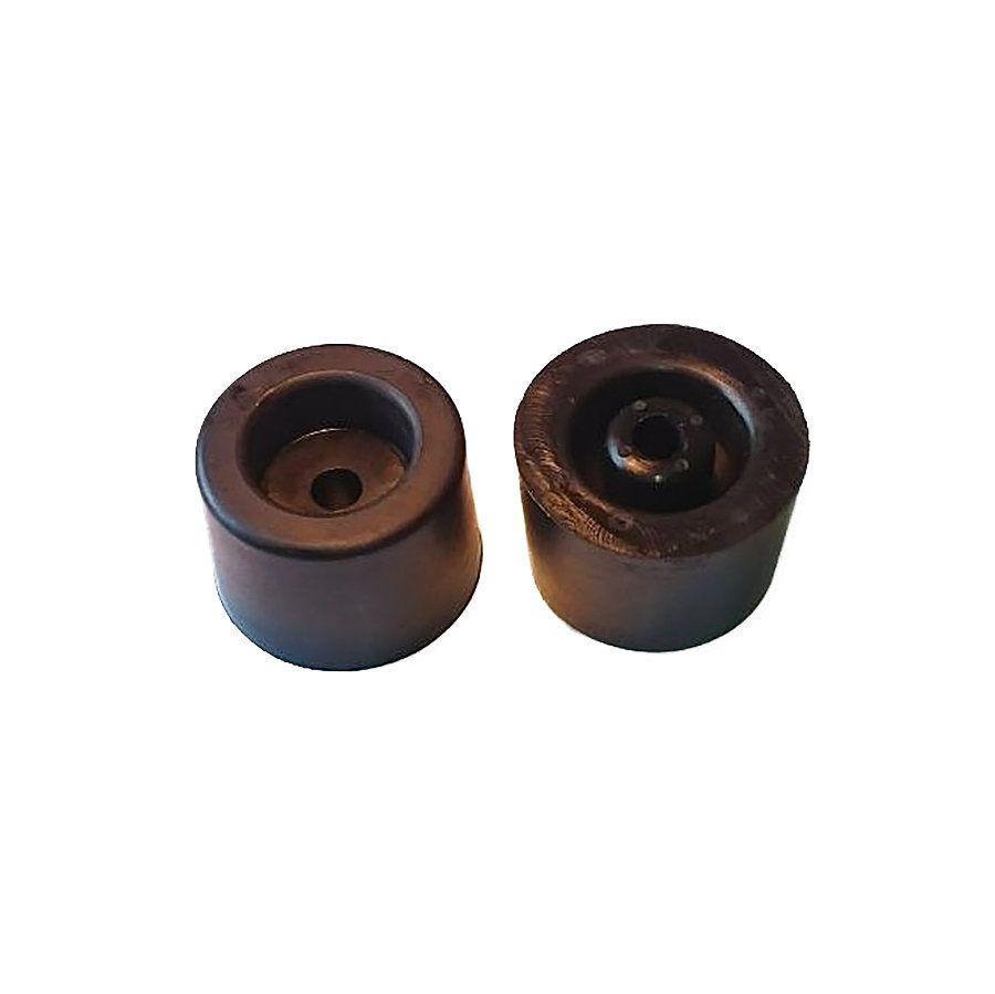 Pryžový kónický doraz s dírou pro šroub - průměr 5 cm a výška 3,5 cm FLOMAT