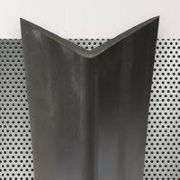 Pryžový roh na ochranu stěn - délka 150 cm, šířka 7,5 cm a tloušťka 0,8 cm
