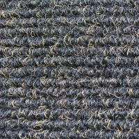 Textilní gumová hliníková vnitřní vstupní rohož Alu Standard, FLOMAT - délka 100 cm, šířka 150 cm a výška 2,2 cm