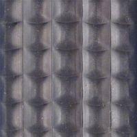 Gumová hliníková kartáčová venkovní vstupní rohož Alu Low Extra, FLOMAT - délka 100 cm, šířka 150 cm a výška 1 cm