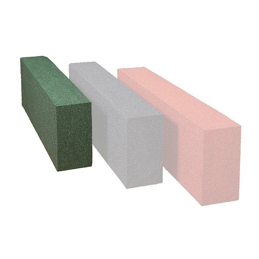 Zelený gumový obrubník OB5 - délka 150 cm, šířka 15 cm a výška 30 cm FLOMAT