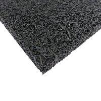 Antivibrační elastická tlumící rohož (deska) z drásaniny F570 - délka 200 cm, šířka 100 cm a výška 1 cm