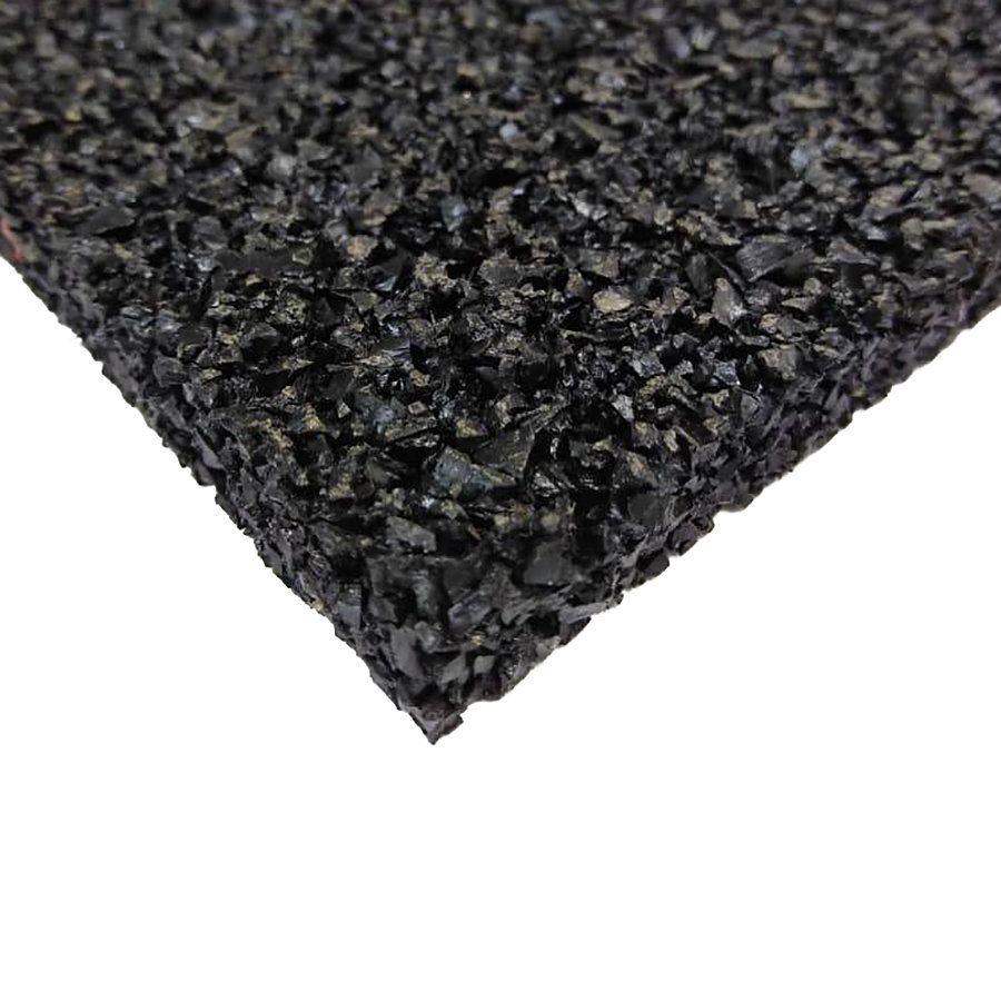 Antivibrační elastická tlumící rohož (deska) z granulátu S650 - délka 200 cm, šířka 100 cm a výška 2 cm FLOMAT