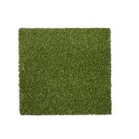 Gumová dlaždice (V25/R15) s umělou trávou - délka 50 cm, šířka 50 cm a výška 2,5 cm