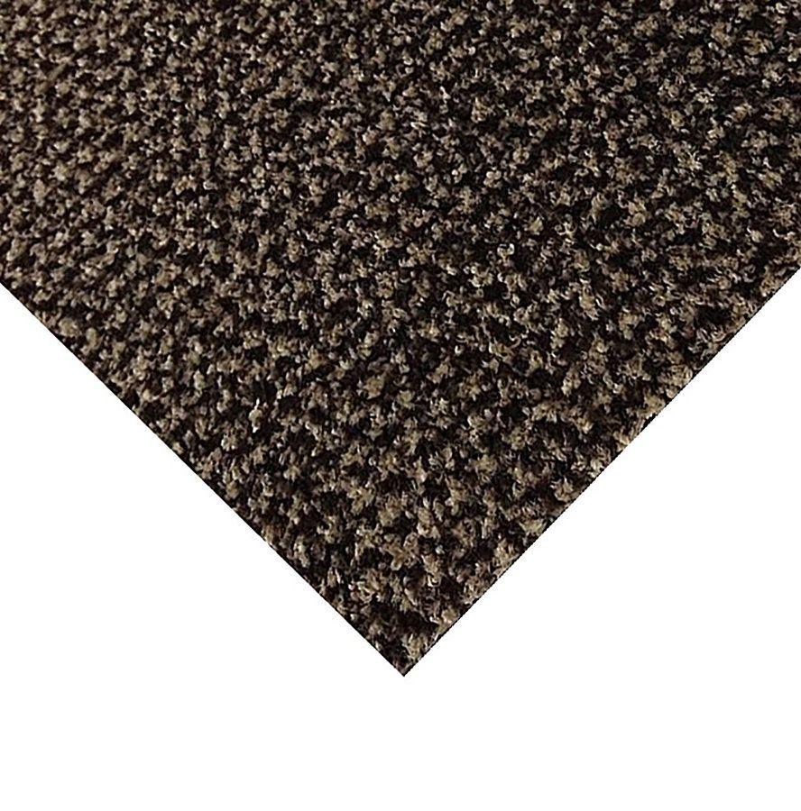 Hnědá kobercová vnitřní čistící zóna Alanis, FLOMAT - délka 50 cm, šířka 100 cm a výška 0,75 cm