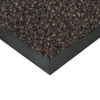 Hnědá textilní vstupní vnitřní čistící rohož Valeria - 300 x 100 x 0,9 cm