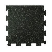 Různobarevná pryžová (10% EPDM PREMIUM) modulární fitness deska (okraj) SF1050 - délka 47,8 cm, šířka 47,8 cm a výška 0,8 cm