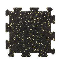 Různobarevná pryžová (10% EPDM PREMIUM) modulární fitness deska (střed) SF1050 - délka 95,6 cm, šířka 95,6 cm a výška 1,6 cm