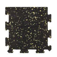Různobarevná pryžová (10% EPDM PREMIUM) modulární fitness deska (okraj) SF1050 - délka 95,6 cm, šířka 95,6 cm a výška 1,6 cm