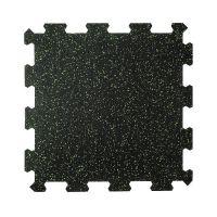 Různobarevná pryžová (10% EPDM PREMIUM) modulární fitness deska (střed) SF1050 - délka 47,8 cm, šířka 47,8 cm a výška 0,8 cm
