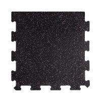 Různobarevná pryžová (10% EPDM STANDARD) modulární fitness deska (okraj) SF1050 - délka 47,8 cm, šířka 47,8 cm a výška 1 cm