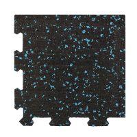 Různobarevná pryžová (10% EPDM STANDARD) modulární fitness deska (roh) SF1050 - délka 95,6 cm, šířka 95,6 cm a výška 1 cm