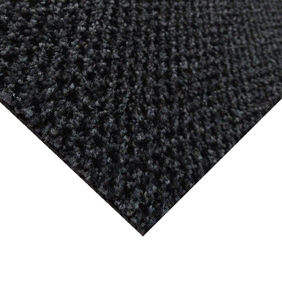 Šedá kobercová vnitřní čistící zóna Alanis, FLOMAT - délka 150 cm, šířka 100 cm a výška 0,75 cm