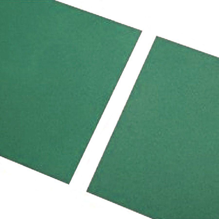 Zelená gumová hladká dlaždice - délka 100 cm, šířka 100 cm a výška 2,3 cm FLOMAT