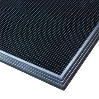 Černá gumová hygienická dezinfekční rohož Sani-Trax - 81 x 61 x 1,9 cm