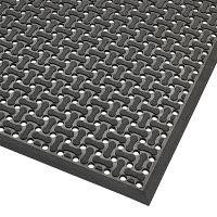 Černá oboustranná protiskluzová rohož Superflow XT - 122 x 183 s 0,85 cm