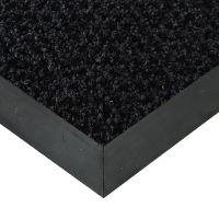 Černá textilní vstupní vnitřní čistící rohož Alanis - 500 x 190 x 0,75 cm