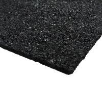 Gumová tlumící podložka FS730 - délka 25 cm, šířka 25 cm a výška 0,3 cm
