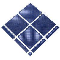 Modrá bazénová modulární rohož Lok-Tyle - 30,5 cm x 30,5 cm x 1,43 cm