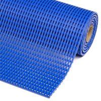 Modrá bazénová protiskluzová rohož Akwadek - 10m x 60 cm x 1,2cm