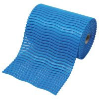 Modrá bazénová rohož Soft-Step - 15 m x 60 cm x 0,9 cm