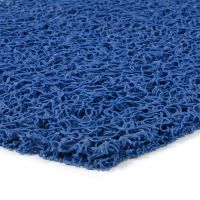 Modrá vinylová protiskluzová rohož Spaghetti, FLOMAT - 1200 x 120 x 1,2 cm