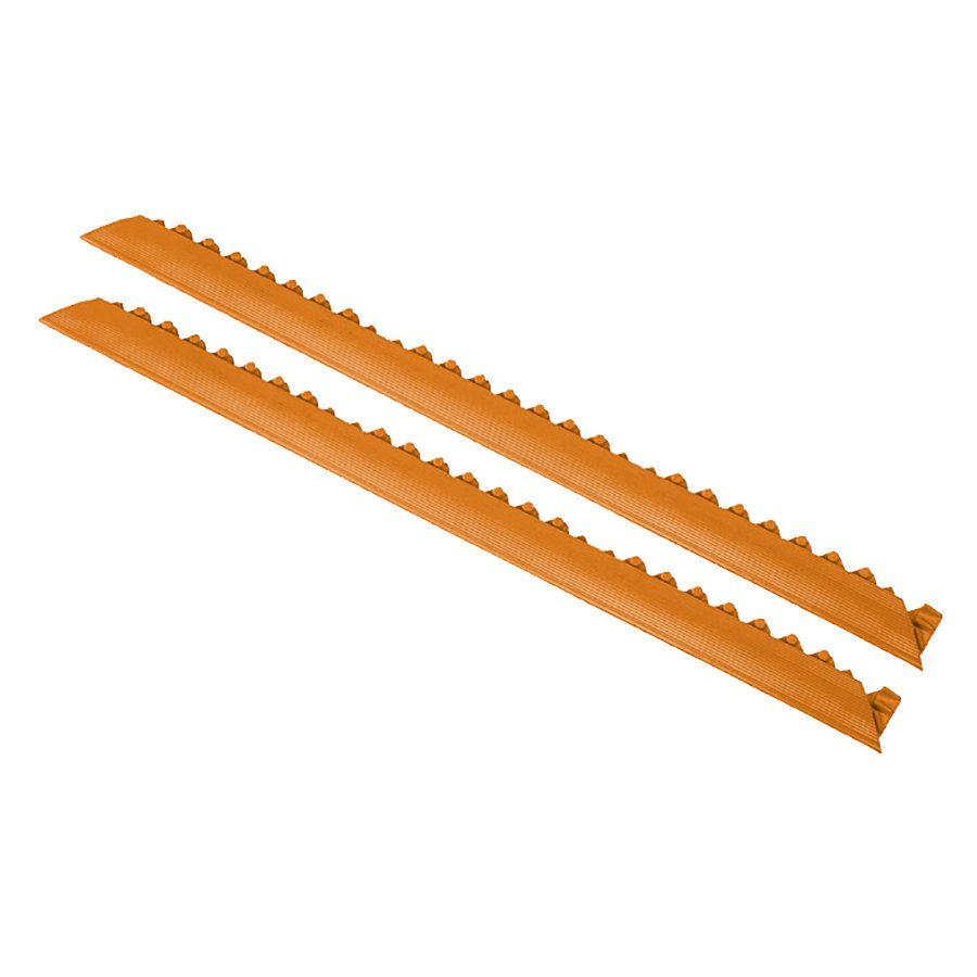 """Oranžová náběhová hrana """"samec"""" MD Ramp System, Nitrile - délka 91 cm a šířka 5 cm FLOMAT"""