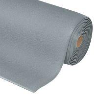 Šedá protiskluzová ESD rohož Cushion Stat - 1830 x 91 x 0,94 cm