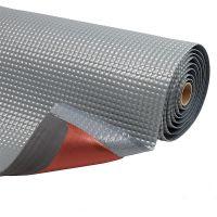 Šedá protiúnavová průmyslová laminovaná rohož Sky Trax - 2190 x 60 x 1,9 cm