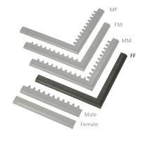 """Černá náběhová hrana """"samice"""" MF Safety Ramps D23/C23 - 100 x 6 cm"""