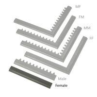 """Černá náběhová hrana """"samice"""" MF Safety Ramps D23/C23 - 50 x 6 cm"""
