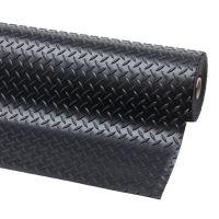 Černá protiskluzová rohož Diamond Plate Runner - 2280 x 122 x 0,47 cm