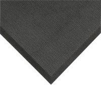 Černá protiúnavová olejivzdorná rohož Posture Mat - 102  x 91 x 1,9 cm