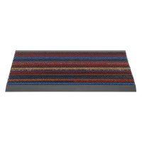 Různobarevná venkovní čistící kartáčová rohož Outline - 50 x 80 x 2,2 cm