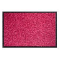Růžová vnitřní vstupní čistící pratelná rohož Twister - 90 x 150 cm