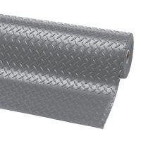 Šedá protiskluzová rohož Diamond Plate Runner - 2280 x 122 x 0,47 cm