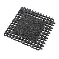 Vstupní čistící modulární rohož na hrubé nečistoty Master Flex, C23 - délka 50 cm, šířka 50 cm a výška 2,3 cm FLOMAT