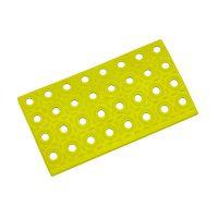 Žlutý plastový nájezd AT-HRD, AvaTile - 25 x 13,7 x 1,6 cm
