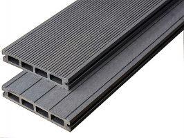Dřevoplastová deska - šedá  150x25x4000mm