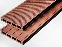Dřevoplastová deska - hnědá  150x25x2900mm