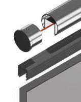 Těsnění pro madlo na sklo- 8-11mm