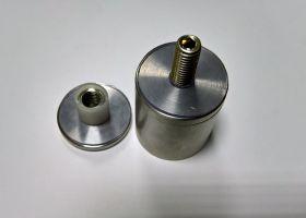 Držák skla bodový D40/M10x10-100
