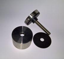Držák skla bodový D50/30 M10