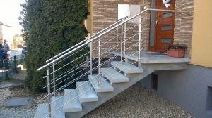 SLOUPEK zábradlí kulatý pro točitá schodiště