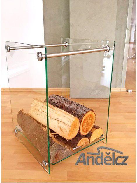 Stojan na dřevo- glas deluxe